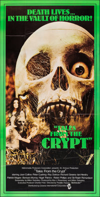 """Tales from the Crypt (CIC, 1972). Folded, Very Fine+. British Three Sheet (39.75"""" X 78.75""""). Horror"""