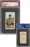 Baseball Cards:Singles (Pre-1930), 1909-11 T206 Hindu-Brown Fred Clarke (Holding Bat) PSA EX 5 - Only Seven Confirmed by PSA!...