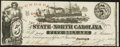 Obsoletes By State:North Carolina, Raleigh, NC- State of North Carolina $5 July 1, 1862 Cr. 87A Crisp Uncirculated.. ...