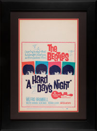 The Beatles A Hard Day's Night Original Theatrical Poster Framed (United Artists, 1964)