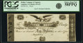 Obsoletes By State:Georgia, Augusta, GA - Bridge Company of Augusta $10 18__ GA-45 G22 Proof PCGS Choice About New 58PPQ.. ...