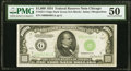 Small Size:Federal Reserve Notes, Fr. 2211-G $1,000 1934 Federal Reserve Note. PMG About Uncirculated 50.. ...