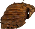 Baseball Collectibles:Others, Early 1970's Lou Brock Game Used & Signed Fielder's Glove ...