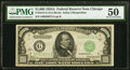 Small Size:Federal Reserve Notes, Fr. 2212-G $1,000 1934A Federal Reserve Note. PMG About Uncirculated 50.. ...