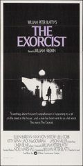 "Movie Posters:Horror, The Exorcist (Warner Bros., 1974). Folded, Very Fine-. International Three Sheet (41"" X 81.25). Horror.. ..."