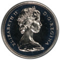 "Canada: Elizabeth II Prooflike ""Large Bust"" 25 Cents 1973 PL68 PCGS"