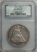 1850-O $1 -- Repaired, Whizzed -- NCS. AU Details. Mintage 40,000. ...(PCGS# 6938)