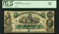 Confederate Notes:1861 Issues, T6 $50 1861 PF-1 Cr. 6 PCGS Very Fine 35.. ...