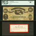 T7 $100 1861 PF-4 Cr. 11 PCGS Extremely Fine 40. ... (Total: 2 items)