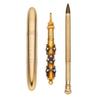 Gold Writing Instruments ... (Total: 3 Items)