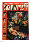 Golden Age (1938-1955):Horror, Psychoanalysis #3 (EC, 1955) Condition: FN/VF. Surreal cover. JackKamen cover and art. Off-white to white pages. Overstreet...