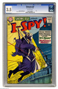 Silver Age (1956-1969):War, Showcase #50 I Spy! (DC, 1964) CGC VG- 3.5 Off-white pages. Carmine Infantino and Murphy Anderson cover and art. Overstreet ...