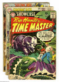Silver Age (1956-1969):Miscellaneous, Showcase Group (DC, 1960-61). This group includes #25 (GD, Rip Hunter with Joe Kubert art) 31 (FR, Aquaman), 35 (GD, second ... (Total: 3 Comic Books Item)