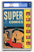 Golden Age (1938-1955):Miscellaneous, Super Comics #92 File Copy (Dell, 1946) CGC NM- 9.2 Cream to off-white pages. Dick Tracy, Little Orphan Annie, Harold Teen, ...