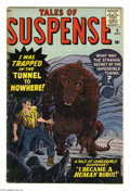 Silver Age (1956-1969):Horror, Tales of Suspense #5 (Marvel, 1959) Condition: GD/VG. Jack Kirbycover (the first monster cover of the series). Joe Sinnott,...