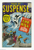 Silver Age (1956-1969):Horror, Tales of Suspense #12 (Marvel, 1960) Condition: VG-. Jack Kirby,Dick Ayers, Steve Ditko, and Reed Crandall art. Overstreet ...