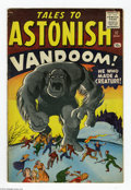 Silver Age (1956-1969):Horror, Tales to Astonish #17 (Marvel, 1961) Condition: VG. Jack Kirbycover art. Kirby, Dick Ayers, Don Heck, and Steve Ditko inter...