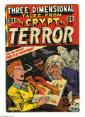 Golden Age (1938-1955):Horror, Three Dimensional Tales from the Crypt of Terror #2 (EC, 1954)Condition: VG-. Al Feldstein cover. The 3-D glasses are intac...