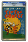 Golden Age (1938-1955):Miscellaneous, Tip Top Comics #4 (United Features Syndicate, 1936) CGC VG+ 4.5 Cream to off-white pages. Features include Tarzan, Li'l Abne...