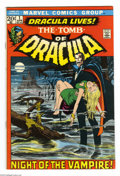 Bronze Age (1970-1979):Horror, Tomb of Dracula #1 (Marvel, 1972) Condition: FN/VF. First appearance of Dracula and Frank Drake. Neal Adams cover art. Gene ...
