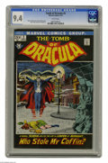 Bronze Age (1970-1979):Horror, Tomb of Dracula #2 (Marvel, 1972) CGC NM 9.4 White pages. John Severin cover. Gene Colan art. Overstreet 2004 NM- 9.2 value ...