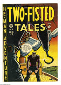 Golden Age (1938-1955):War, Two-Fisted Tales #18 (EC, 1950) Condition: VG+. First issue,numbering was continued from Haunt of Fear. Harvey Kurtzman...