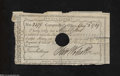 Colonial Notes:Connecticut, Connecticut Pay 5s Table Note Very Fine.Moderately ...