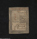 Colonial Notes:Pennsylvania, Pennsylvania October 1, 1773 20s About Uncirculated.A very ...