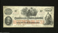 Confederate Notes:1862 Issues, T41 $100 1862. Light folds and sound edges are traits of ...