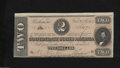Confederate Notes:1864 Issues, T70 $2 1864. Two wide margins are found on this well ...