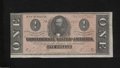 Confederate Notes:1864 Issues, T71 $1 1864. The edges show some light handling on this ...