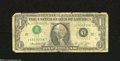 Error Notes:Inverted Third Printings, Fr. 1908-L $1 1974 Federal Reserve Note. Good-Very Good. ...