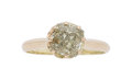 Estate Jewelry:Rings, Natural Fancy Colored Diamond, Gold Ring . ...
