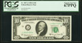 Fr. 2017-J $10 1963A Federal Reserve Note. PCGS Superb Gem New 67PPQ