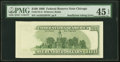 Insufficient Inking of Back Printing Error Fr. 2175-G $100 1996 Federal Reserve Note. PMG Choice Extremely Fine 45 EPQ.&...