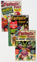 Silver Age (1956-1969):Superhero, Fantastic Four Group of 16 (Marvel, 1964-71) Condition: Average FN.... (Total: 16 )