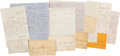 Autographs:Military Figures, Group of Civilian Letters Addressed to Col. William W. Clark, 85th New York Volunteers....