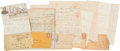 Autographs:Military Figures, Elmore A. Russell, 85th Pennsylvania Volunteer Infantry, Archive of Letters....