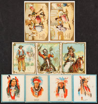1900-1933 Non-Sport Cowboy and Indians Collection (74)