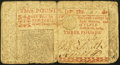 Colonial Notes:New Jersey, New Jersey April 16, 1764 £3 Very Good.. ...