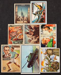Non-Sport Cards:Lots, 1950's Topps, Bowman and Parkhurst Non-Sport Collection (123)....