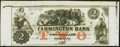 Obsoletes By State:New Hampshire, Farmington, NH- Farmington Bank $2 18__ Remainder Choice Crisp Uncirculated.. ...