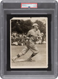 Baseball Collectibles:Photos, Circa 1918 Babe Ruth Original News Photograph, PSA/DNA Type 1....