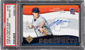 Baseball Cards:Singles (1970-Now), 2005 Ultimate Signature Edition Justin Verlander #145 PSA Gem Mint 10 - #'d 014/125....