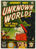 Golden Age (1938-1955):Horror, Journey Into Unknown Worlds #12 (Atlas, 1952) Condition: VG+....