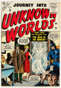 Golden Age (1938-1955):Horror, Journey Into Unknown Worlds #35 (Atlas, 1955) Condition: VG/FN....