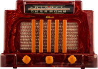 Addison Industries Limited (Canadian, 20th Century) Model 5 Courthouse Catalin Radio, 1940 Catalin