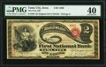 Tama City, IA - $2 Original Fr. 389 The First National Bank Ch. # 1880 PMG Extremely Fine 40