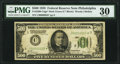Fr. 2200-C* $500 1928 Federal Reserve Note. PMG Very Fine 30