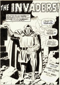 Original Comic Art:Splash Pages, Wally Wood Astonishing Tales #4 Splash Page 1 Doctor Doom Original Art (Marvel, 1970)....